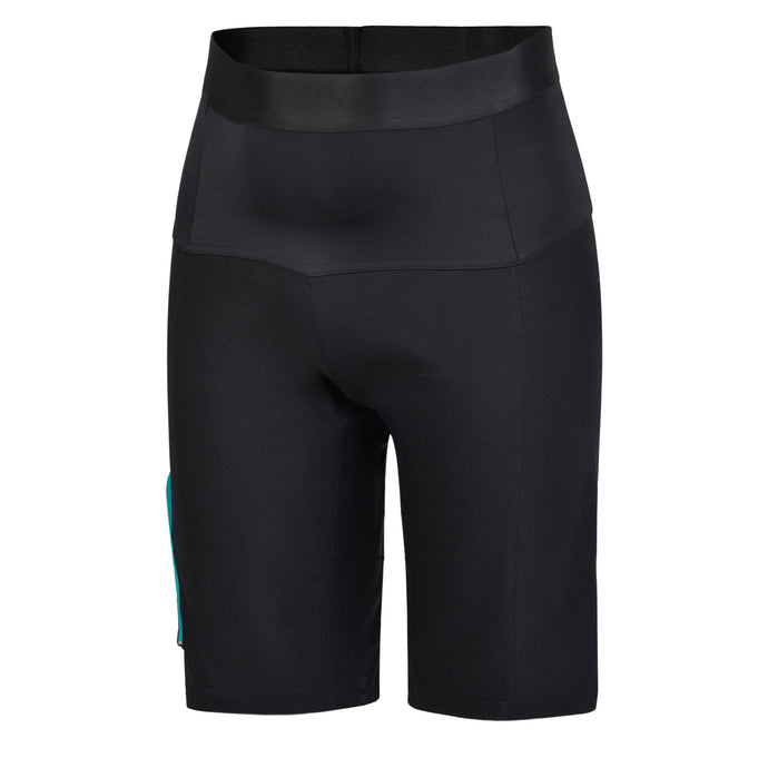 Women's Black Cracking Mountain Bike Shorts