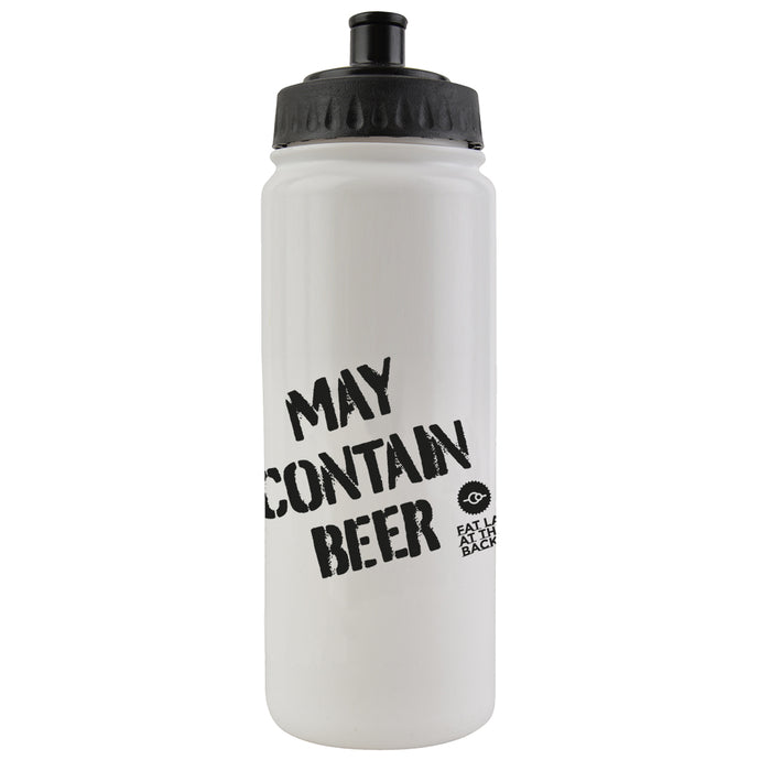 Water bottle - May Contain Beer