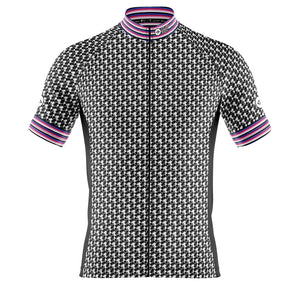 Mens Black Herring Cycling Jersey