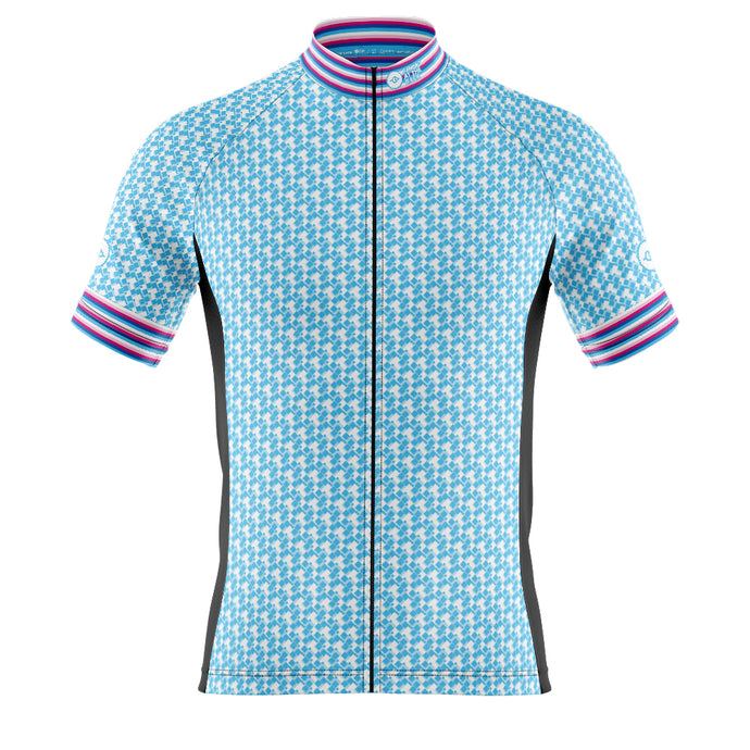 Mens Blue Herring Cycling Jersey
