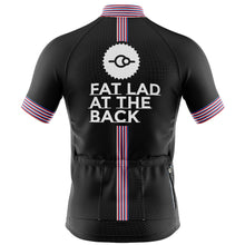 Load image into Gallery viewer, Mens Black Classic Cycling Jersey