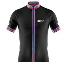 Load image into Gallery viewer, Big and Tall Mens Black Classic 2020 Cycling Jersey