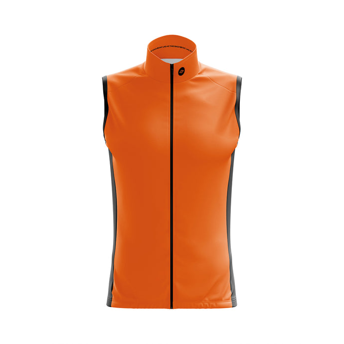 Big and Tall Mens Hi Vis Windy Cycling Gilet - Due Early March