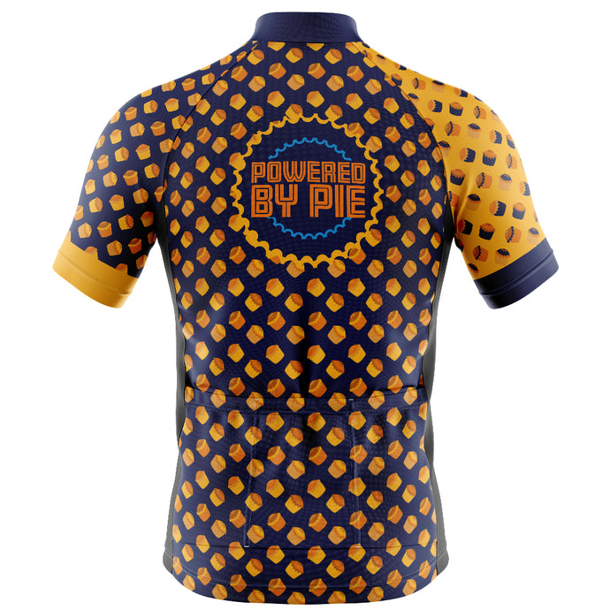 Mens Cove Cycling Jersey in Powered By Pie - More stock due Early March