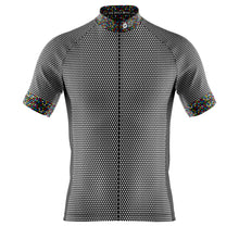Load image into Gallery viewer, Mens Black Rubix Cycling Jersey
