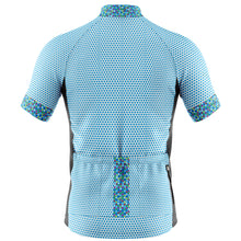 Load image into Gallery viewer, Mens Blue Rubix Cycling Jersey