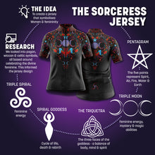 Load image into Gallery viewer, Women's Sorceress Cycling Jersey