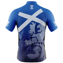 Load image into Gallery viewer, Big and Tall Scotland Flag Cycling Jersey