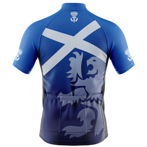 Big and Tall Scotland Flag Cycling Jersey