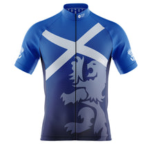 Load image into Gallery viewer, Mens Scotland Flag Cycling Jersey