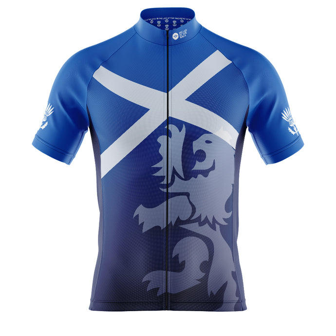 Mens Cove Cycling Jersey in Scotland Flag