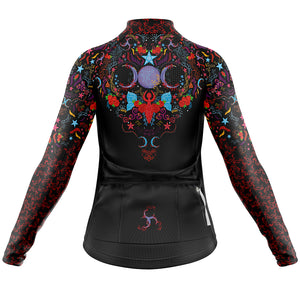 Women's Sorceress Midweight Thermal Long Sleeve Cycling Jersey