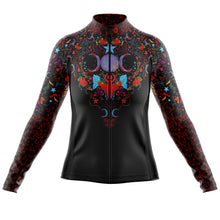 Load image into Gallery viewer, Women's Sorceress Midweight Thermal Long Sleeve Cycling Jersey