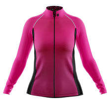 Load image into Gallery viewer, Women's Pink Squircle Cycling Rain Jacket
