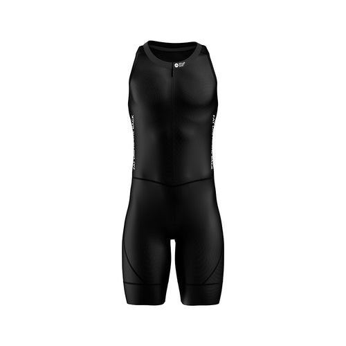 Big and Tall Mens Black Triathlon Suit