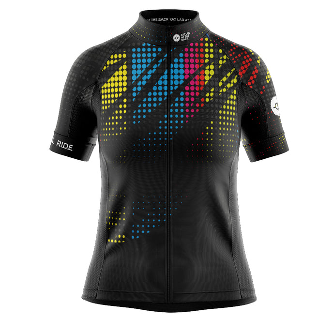 Women's EXCLUSIVE FLAB Social Ride Cycling Jersey