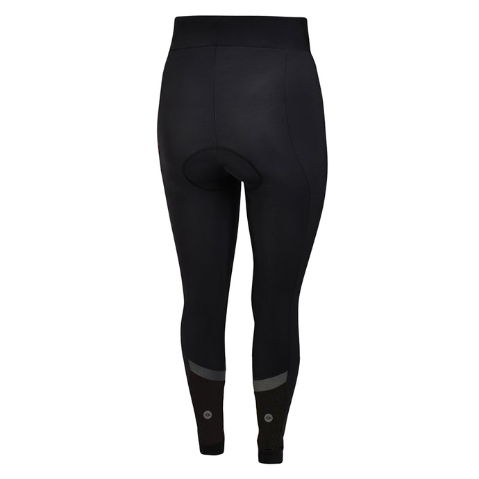 Women's Black Winter Thermal Padded Cycling Tights - Restock due December
