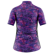 Load image into Gallery viewer, Women's Fleet Cycling Jersey in Camo