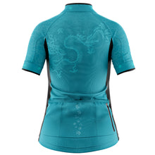 Load image into Gallery viewer, Women's Cove Cycling Jersey in Oriental Jade