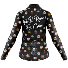Load image into Gallery viewer, Women's Cove Midweight Cycling Jersey in Cake
