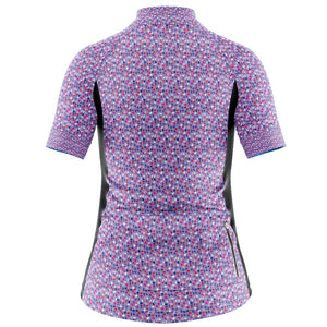 Women's Fleet Cycling Jersey in Gem Purple