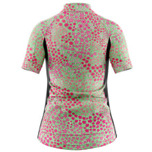 Load image into Gallery viewer, Women's Pink Ditsy Cycling Jersey