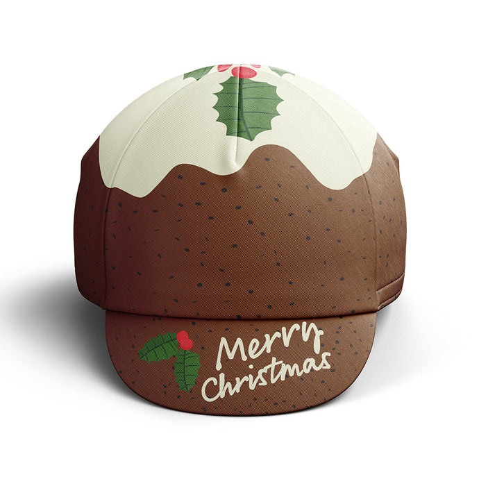 Christmas Pudding Cycling Cap