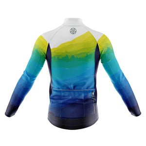 Big and Tall Mens Yorkshire Windproof Cycling Jersey