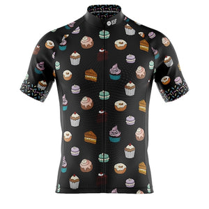 Mens Will Ride For Cake Cycling Jersey
