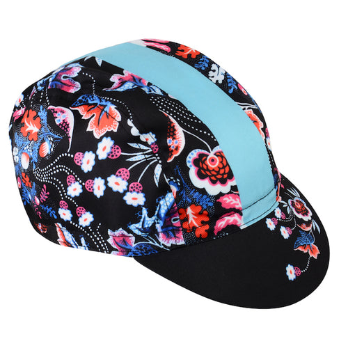 Floral Cycling Cap