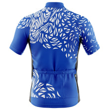Load image into Gallery viewer, Mens Blue Gnarly Cycling Jersey