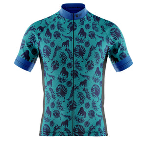Mens Fausto Coppi Inspired Gorilla Cycling Jersey