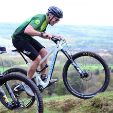 Load image into Gallery viewer, Mens Green Rombalds Mountain Bike Jersey