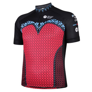 Big and Tall Mens Prevent Breast Cancer Cycling Jersey