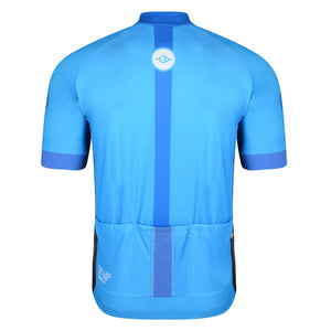 Mens Sky Blue Premium Ginnel Cycling Jersey