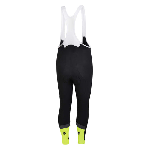 Mens Hi Vis Jewel Reflective Padded Cycling Bib Tights