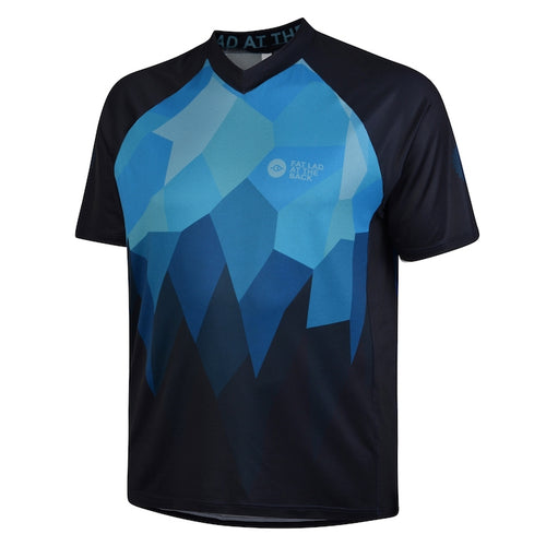 Mens Blue Rombalds Mountain Bike Jersey