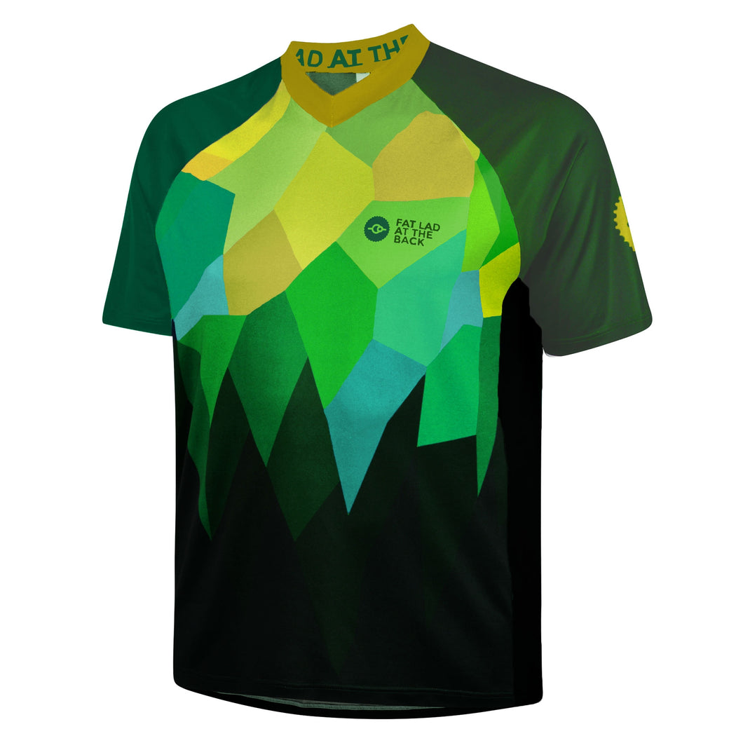 Mens Green Rombalds Mountain Bike Jersey