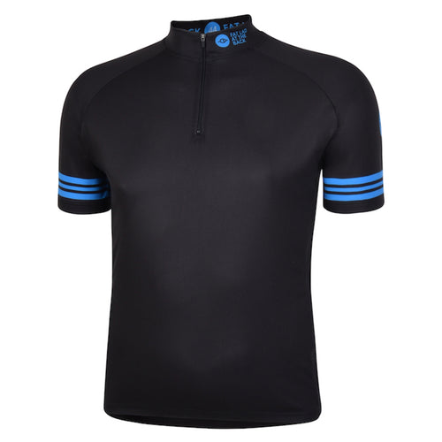 Mens Black Reet Cycling Jersey