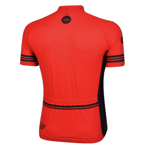 Mens Red Reet Cycling Jersey