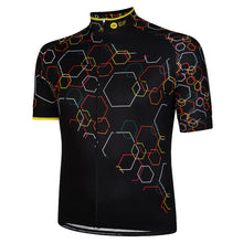 Load image into Gallery viewer, Big and Tall Mens Multi Hexy Cycling Jersey