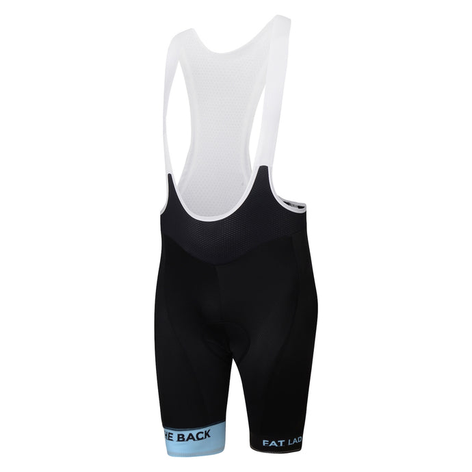 Mens Blue Jewel Premium Padded Cycling Bib Shorts
