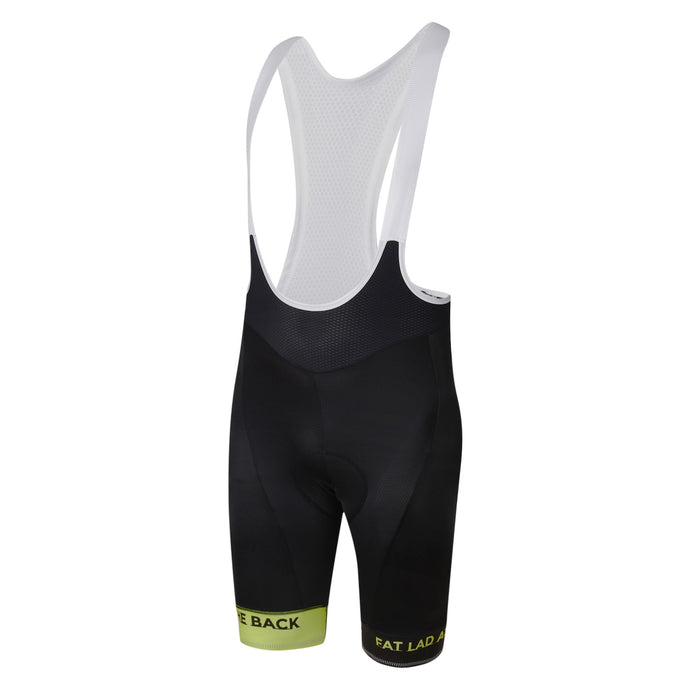 Mens Lime Jewel Premium Padded Cycling Bib Shorts
