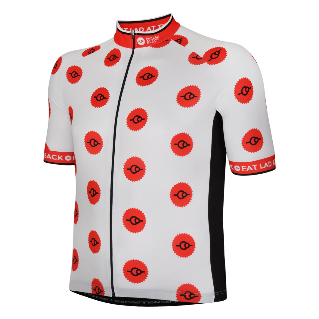 King Of The Mountains Polka Dot Cycling Jersey