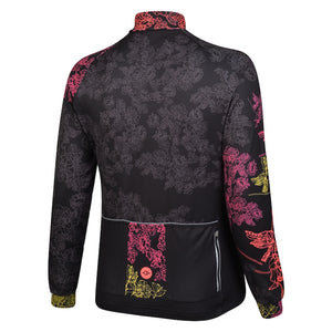 Women's Silhouette Fluoro Windproof Cycling Jersey