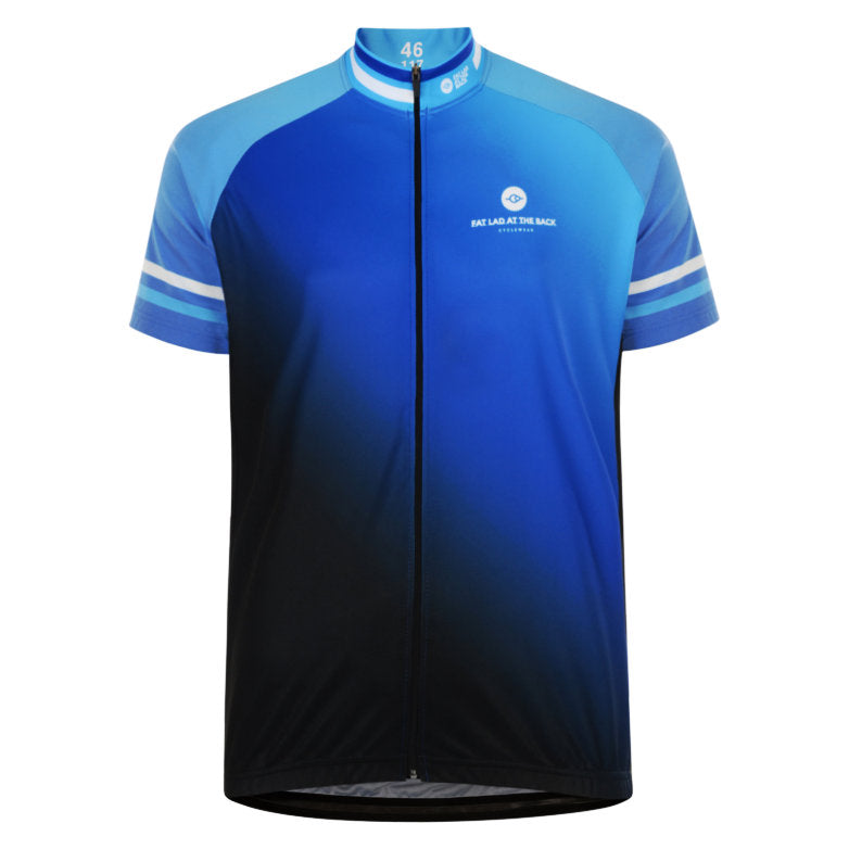 Mens Beacon Blue Cycling Jersey