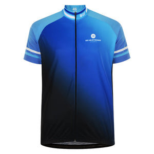 Spare Tyre Mens Beacon Blue Cycling Jersey
