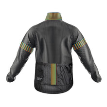 Load image into Gallery viewer, Mens Black Oxo Cycling Rain Jacket