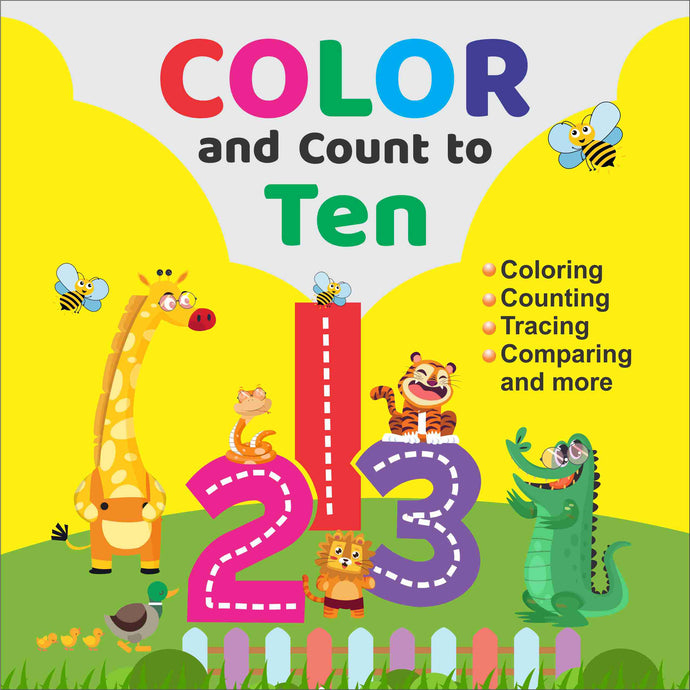 Color and Count to Ten