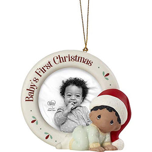 Precious Moments Baby's 1st Christmas - Photo Frame Christmas Ornament